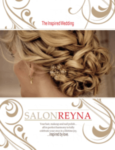 salon reyna wedding
