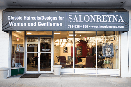 Salon Reyna Interior Bedford MA